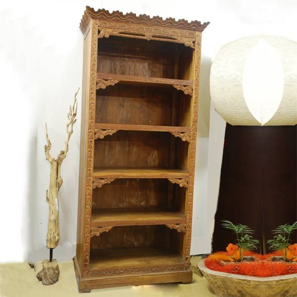 Book Rack Lawa Natural