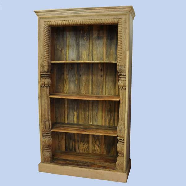 Pillar Square Bookshelf